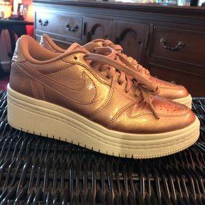 Lowtop Air Jordan Wedge Sneakers